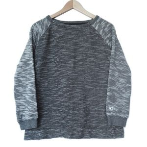 Champion Space Dye 100% Cotton Raglan Sweatshirt